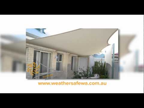 WeatherSafe SunBan Shade sails.wmv