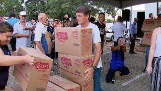 Rede de supermercados faz ação social de Páscoa e ajuda 52 entidades