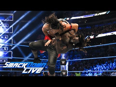 Shinsuke Nakamura Vs. R-Truth: SmackDown LIVE, Aug. 7, 2018