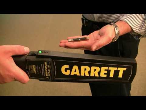 Garrett Super Scanner V Hand Held Metal Detector