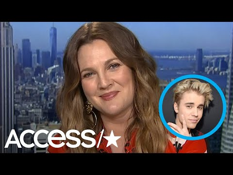 Drew Barrymore Confesses She Has Major Bieber Fever: 'I'm Such An Uber Fan' | Access