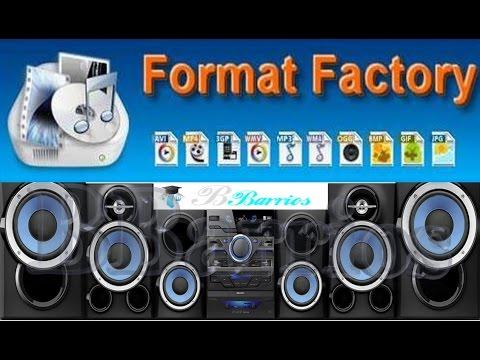 Descargar e Instalar el Format Factory 3.6.00