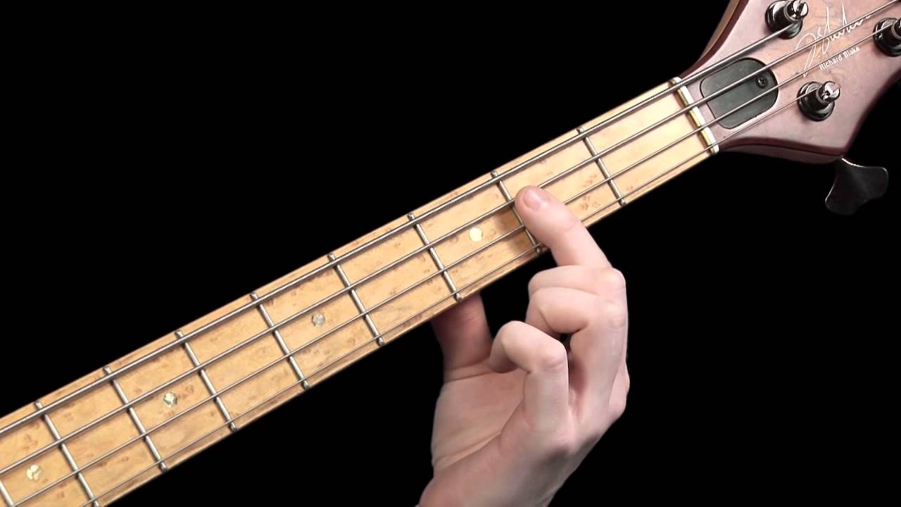 Learn Bass Guitar – Scales & Chord Tones – part 2