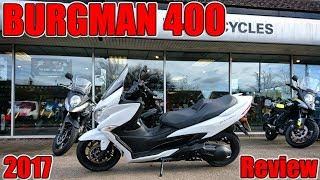 2. Suzuki Burgman 400 2017 Review!