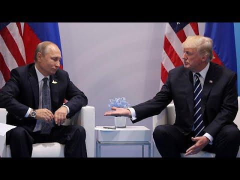 Τραμπ – Πούτιν: Αβρότητες στην πρώτη τους συνάντηση