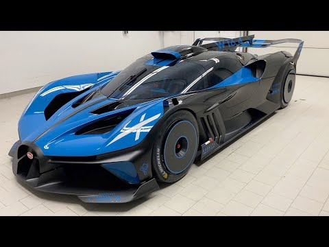 NEW BUGATTI BOLIDE! The Most Extreme Bugatti Ever Made. FIRST START UP