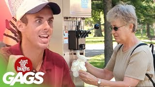 INFINITE ICE CREAM!! - Just For Laughs Gags