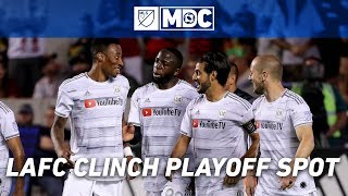 Record Breaking LAFC Clinch MLS Playoff Spot by Major League Soccer