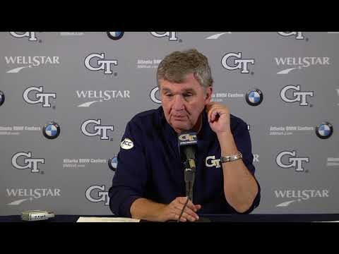 Video: #VTvsGT: Coach Paul Johnson Postgame Press Conference (11-11-17)