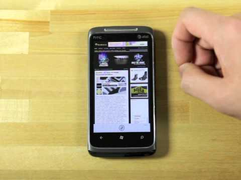Windows Phone 7   A look into the new OS