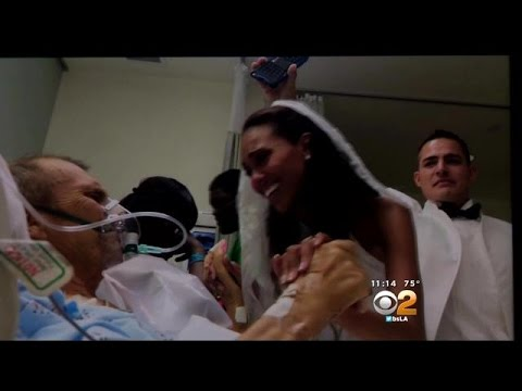 Victorville Bride Gives Dying Father A Touching Gift