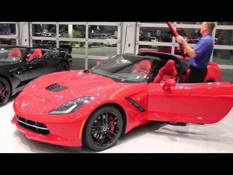 how to remove and replace the 2015 Corvette Stingray roof Bachman Chevrolet