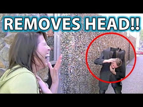 scare - Please Share, Like, Embed & Add to Playlists! #headdropprank (Do not duplicate) This is the original head drop prank viral vid. It's also our favorite scare,...