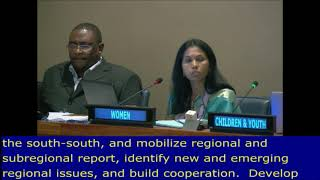 Sai Racherla's intervention at the HLPF 2017: UN Web TV - http://webtv.un.org