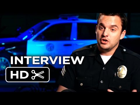 Let's Be Cops Interview - Jake Johnson  (2014) - Damon Wayans Action Comedy HD