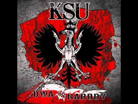 Tekst piosenki KSU - Dwa narody po polsku