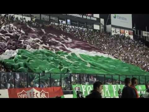 Entrada Fluminense x Emelec - Libertadores 2013 - Movimento Popular Legião Tricolor - Fluminense
