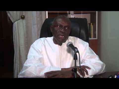 Université Alioune DIOP de Bambey : Titre de Docteur Honoris Causa au Professeur Denis Brière