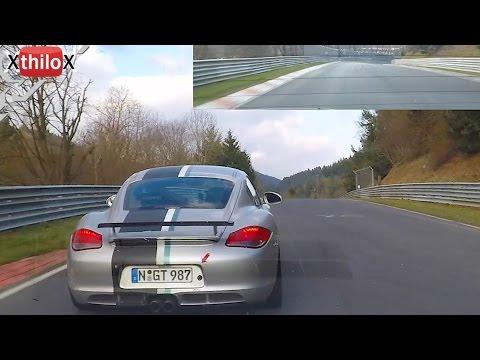 Megane RS + Porsche Cayman S - Nürburgring Nordschleife Easter 2015