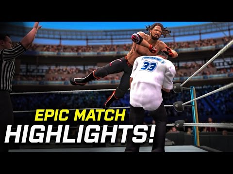 WWE 2K17 Wrestlemania 33 AJ Styles vs. Shane Mcmahon | Epic Match Highlights!