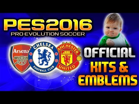 PES 2016   Official Kits And Badges Tutorial - (How To Install)