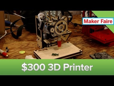 Maker - The Printrbot is the most affordable 3D printer on the market. Though it's a bit small, it's definitely a cool piece of tech. See the video for an interview ...