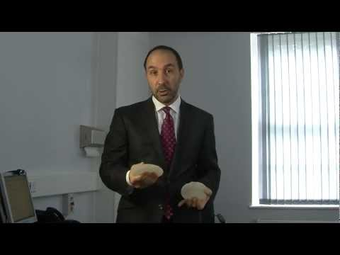 Mr Karidis on breast implant shapes