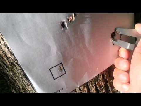 EDgun matador long 6.35 mm Стрельба на 113 м (видео)