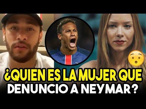 ¿Quién es la mujer que denunció al futbolista brasileño Neymar por violación? (VIDEO)