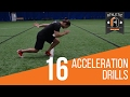 Speed Training Drills : 16 Acceleration Starts For Athletes