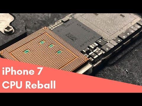iPhone 7 переустановка процессора