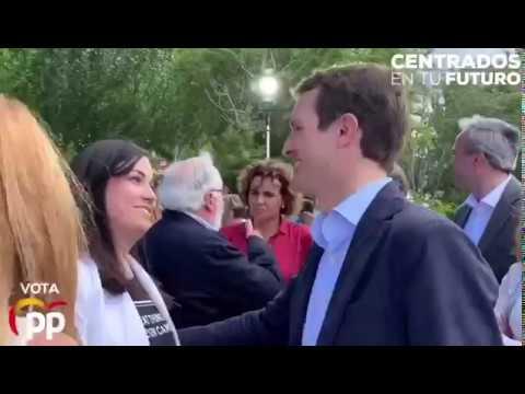 #26M Casado y Beamonte presentan el programa del PP para Europa