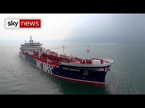 British-operated Oil Tanker Seized By Iran