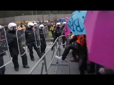 Διαδήλωση για το προσφυγικό και επεισόδια στα ιταλοαυστριακά σύνορα