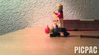 Драка #picpac #stopmotion #lego