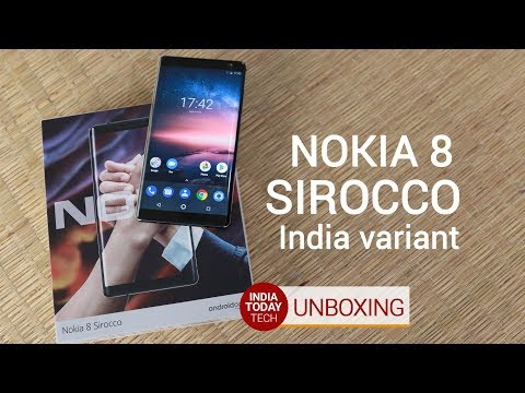 Nokia 8 Sirocco unboxing and quick review