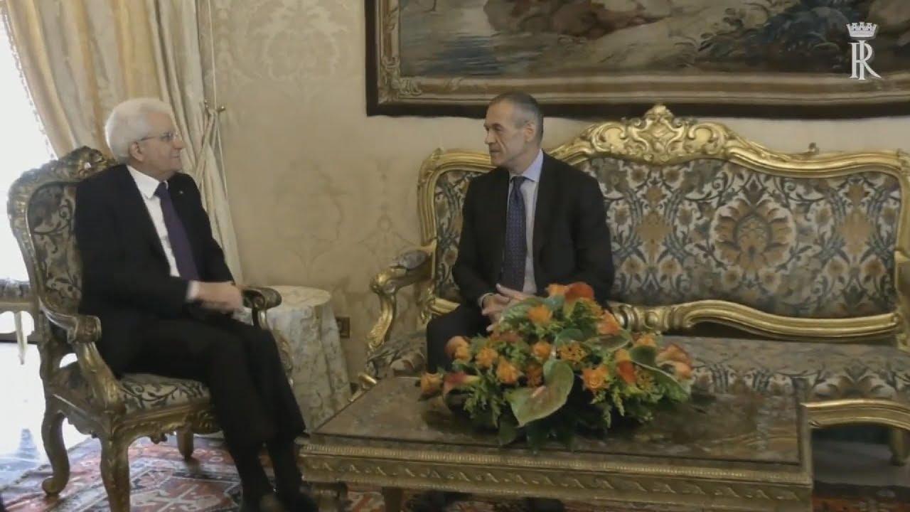 Ο εντολοδόχος πρωθυπουργός Κοταρέλι δηλώνει πως θα οδηγήσει τη χώρα σε νέες εκλογές