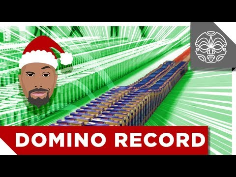 Dwanta's Dominos Guinness World Records Attempt