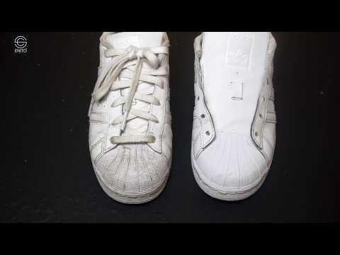 Cách làm sạch giày da cấp tốc!!!