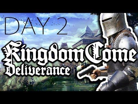 МАЛО В ДЕТСТВЕ БИЛИ ПАЛКОЙ | Kingdom Come Deliverance ● День 2