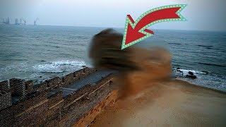 """Download Lagu This is the END of the GREAT WALL of CHINA!   Visiting """"The Old Dragon's Head"""" in Qinhuangdao Mp3"""