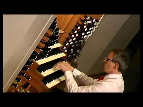 Kay Johannsen spielt eine Improvisation über Widors Symphonie Romane