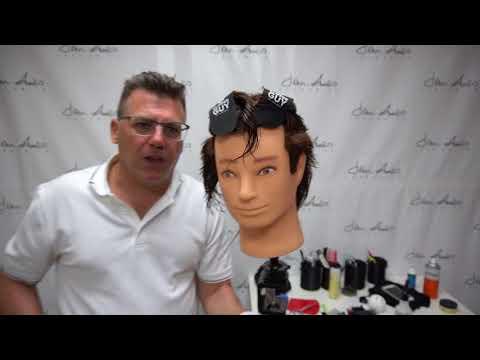 Mens hairstyles - Tapered Undercut Men's haircut clipper layer razor style Ivan Zoot John Amico