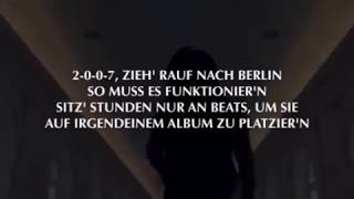 image of RAF CAMORA ft  BONEZ MC   Alles probiert Official HQ Lyrics