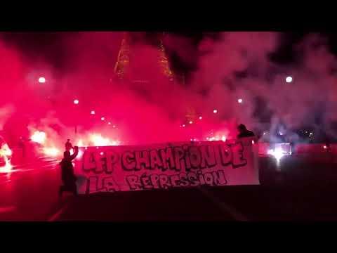 PSG CHAMPION 2018 - Fans celebrating their championship!