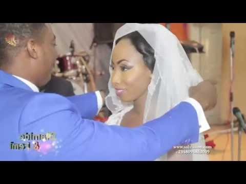 olamide & femi wedding flash