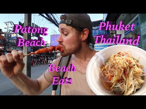 VACATION TIME! Street Foods on the BEACH in PHUKET, THAILAND! - Thời lượng: 10 phút.