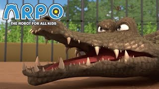 Video ARPO The Robot For All Kids - Angry Animals | Compilation | Cartoon for Kids MP3, 3GP, MP4, WEBM, AVI, FLV Januari 2019