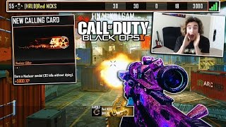 I HIT A NUCLEAR TRICKSHOT ON BLACK OPS 2! (30-0 TRICKSHOT!)