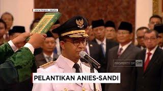 Video Sah! Anies-Sandi Resmi Pimpin Jakarta, Pelantikan Gubernur & Wagub DKI oleh Presiden Jokowi MP3, 3GP, MP4, WEBM, AVI, FLV Oktober 2017